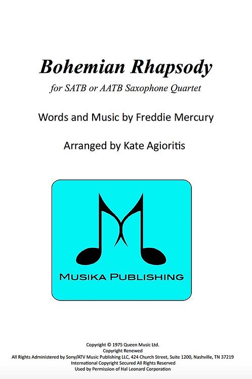 Bohemian Rhapsody (Queen) - Saxophone Quartet