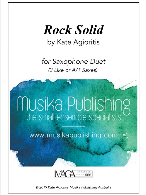 Rock Solid - Saxophone Duet