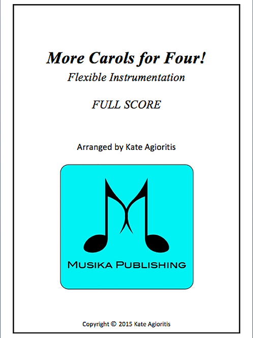 More Carols for Four - Full Conductor's Score