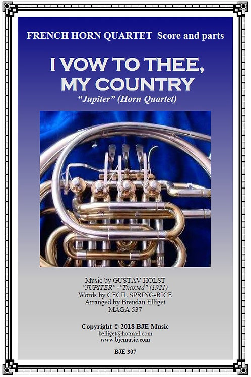 I Vow To Thee My Country - Horn Quartet