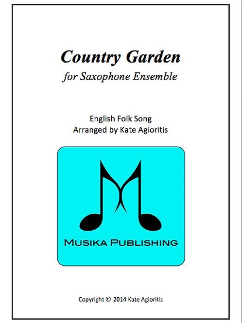 Country Garden - Saxophone Ensemble