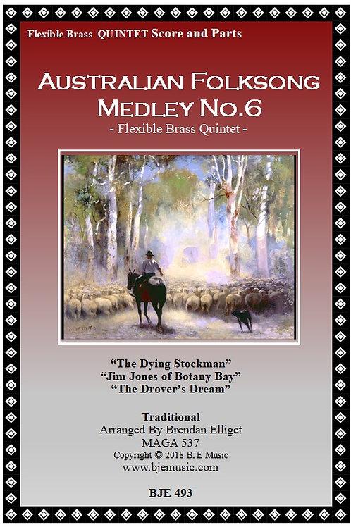 Australian Folksong Medley No. 6 - Flexible Brass Quintet