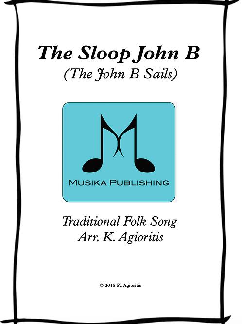 The Sloop John B - Clarinet Quartet