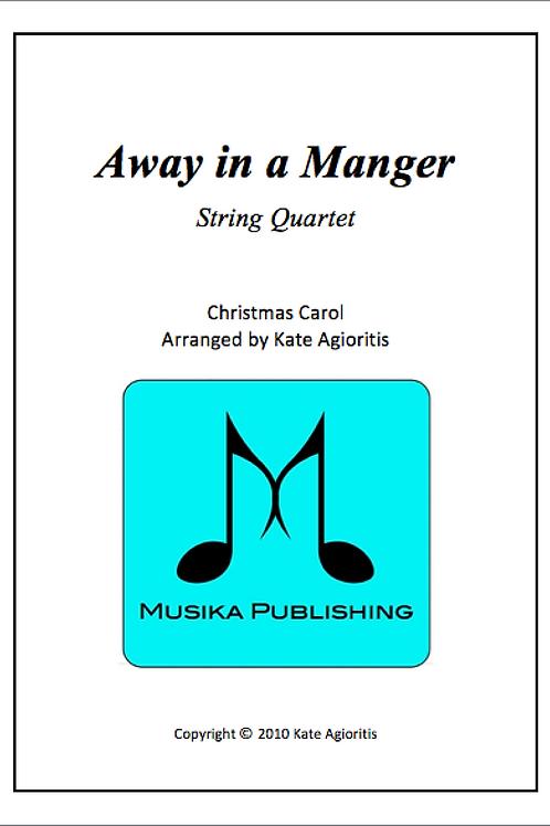 Away in a Manger - String Quartet
