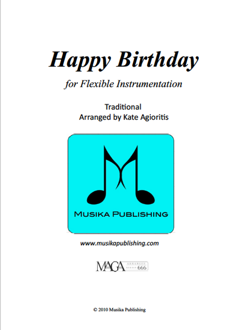 Happy Birthday - Flexible Instrumentation