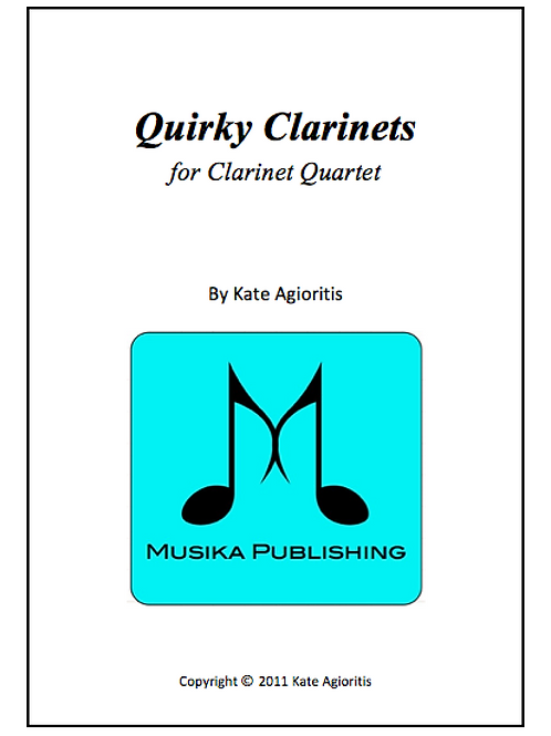 Quirky Clarinets - Clarinet Quartet