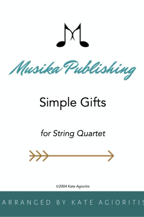 Simple Gifts - String Quartet