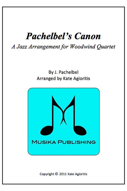 Pachelbel's Canon (Jazz) - Woodwind Quartet