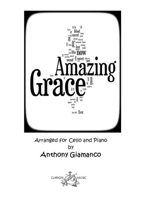 Amazing Grace - Cello and Piano