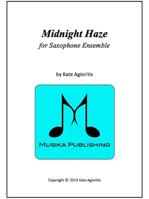 Midnight Haze - Saxophone Ensemble