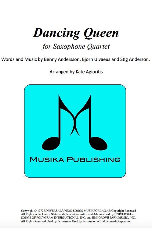 Dancing Queen (ABBA) - Saxophone Quartet