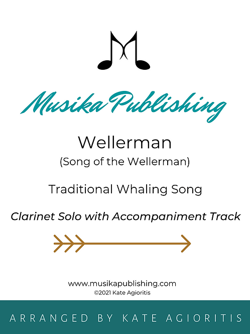 Wellerman - Clarinet Solo with Accompaniment Track
