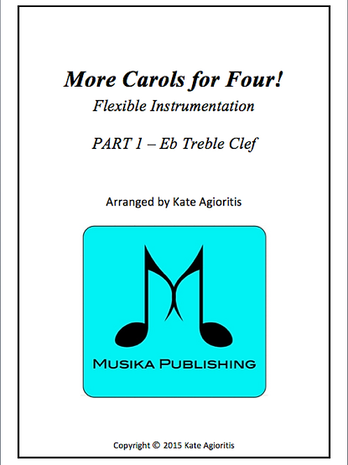 More Carols for Four Part 1 - Eb Treble Clef
