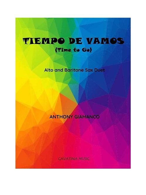 Tiempo de Vamos - Alto and Baritone Saxophone Duet
