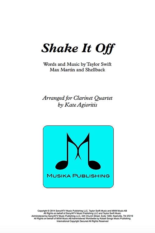 Shake it Off (Taylor Swift) - Clarinet Quartet