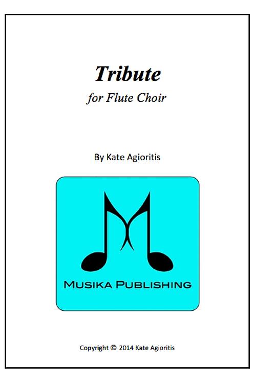 Tribute - Flute Choir