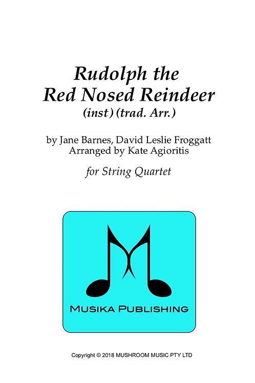 Rudolph the Red Nosed Reindeer - String Quartet