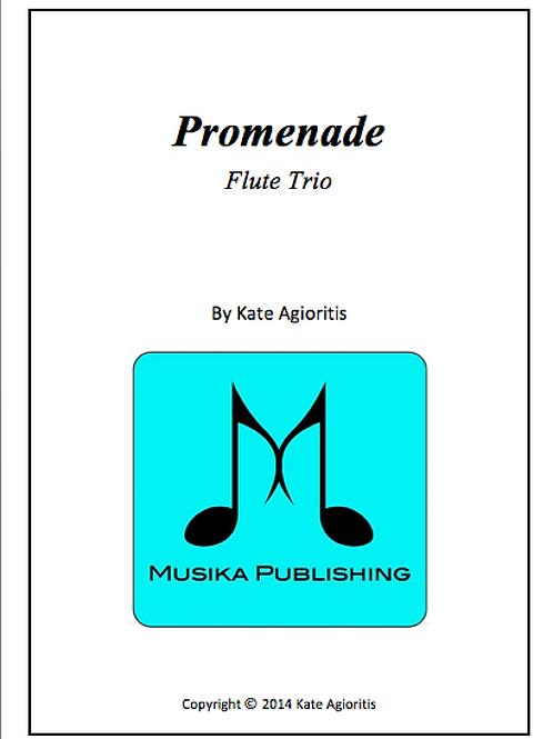 Promenade - Flute Trio