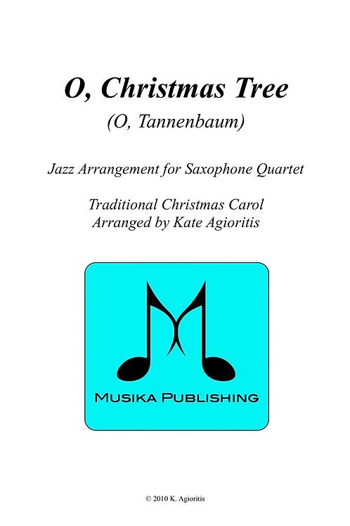 O Christmas Tree - Saxophone Quartet