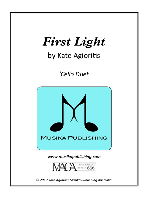 First Light - 'Cello Duet
