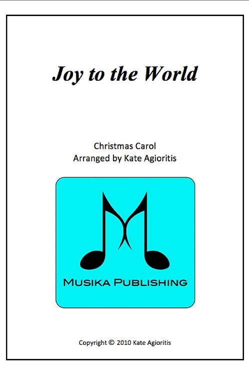 Joy to the World - Jazz Arrangement - String Quartet