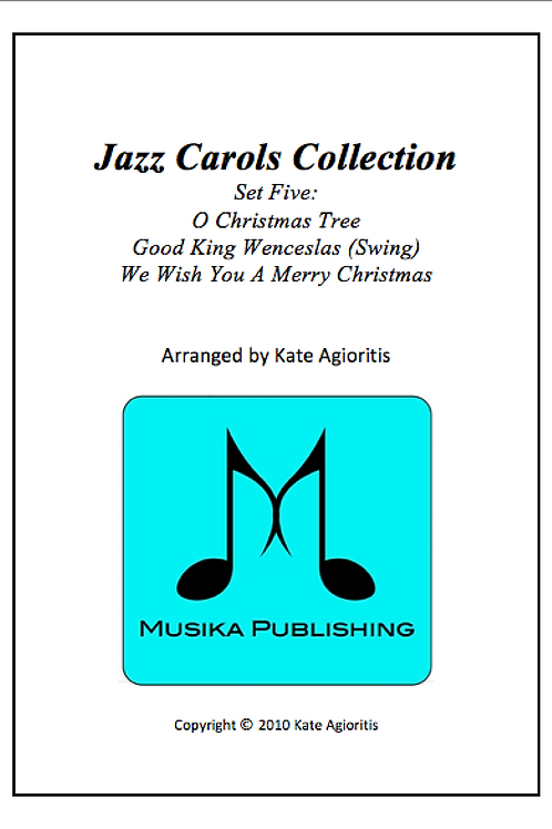 Jazz Carols Collection Set 5 - String Quartet