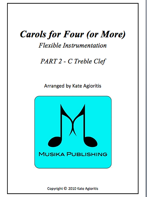 Carols for Four (or More) Part 2 C Treble Clef