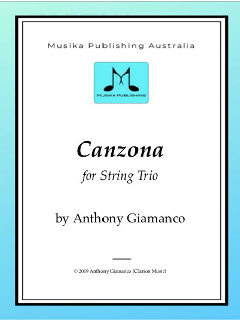 Canzona - String Trio