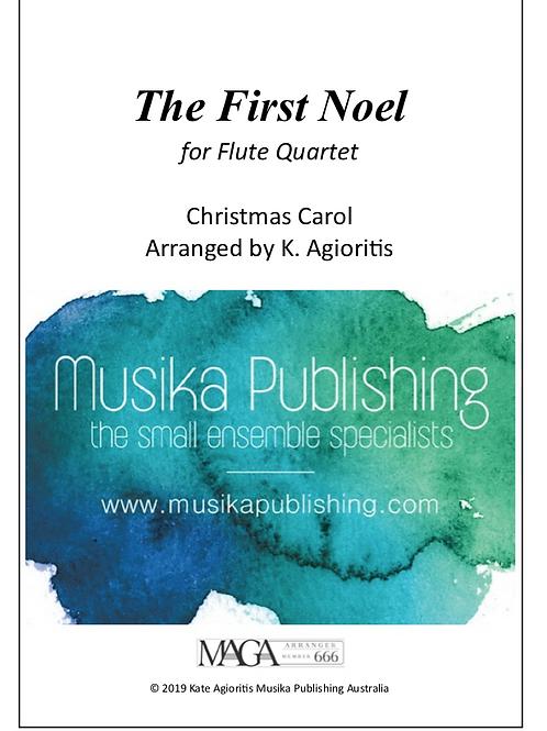 The First Noel - Flute Quartet