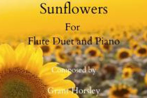 """Sunflowers"" Flute Duet and Piano"