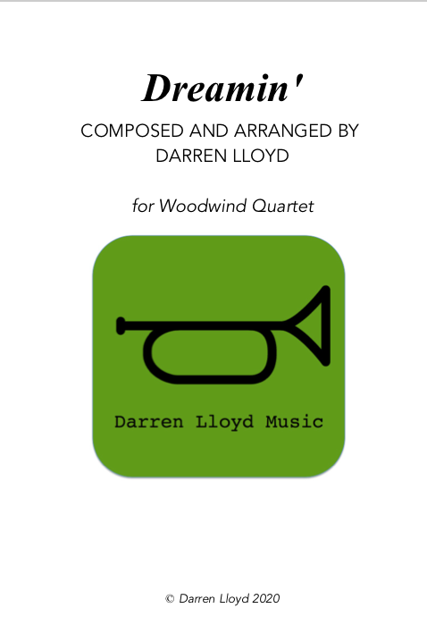 Dreamin' - for Woodwind Quartet