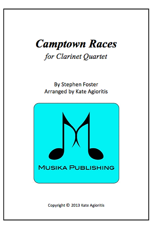 Camptown Races - Clarinet Quartet