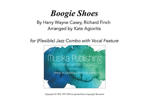 Boogie Shoes - Flexible Combo - Vocal Feature