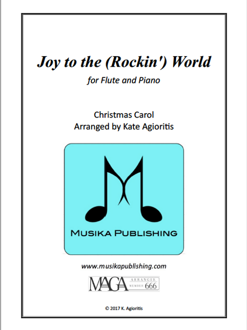 Joy to the (Rockin') World - Flute and Piano