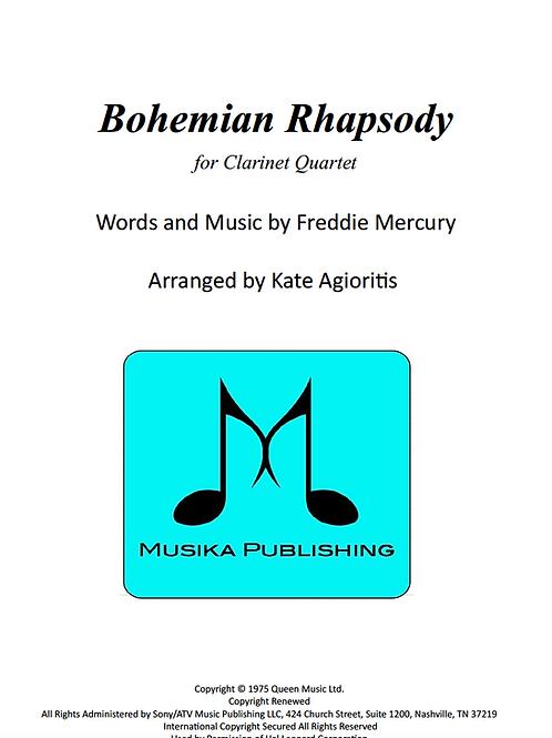 Bohemian Rhapsody (Queen) - Clarinet Quartet