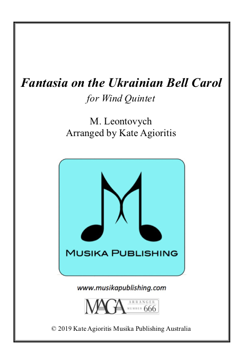 Fantasia on the Ukrainian Bell Carol - Wind Quintet