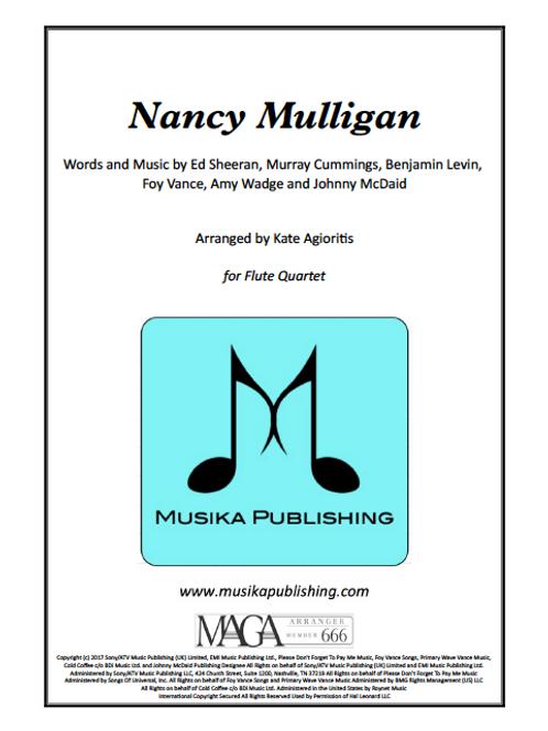 Nancy Mulligan (Ed Sheeran) - Flute Quartet