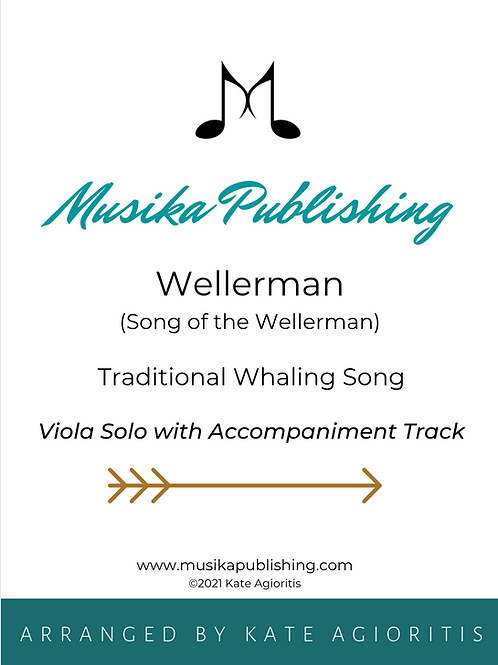 Wellerman - Viola Solo with Accompaniment Track