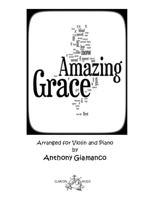 Amazing Grace - Violin and Piano