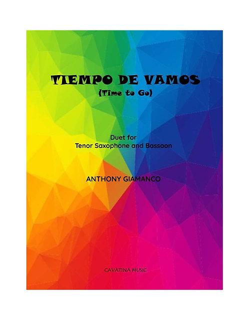 Tiempo de Vamos - Tenor Sax and Bassoon Duet