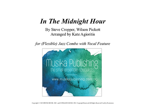 Midnight Hour - (Flexible) Jazz Combo with Vocal