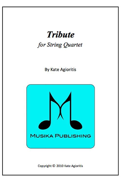 Tribute - String Quartet