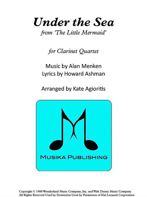 Under the Sea - Clarinet Quartet