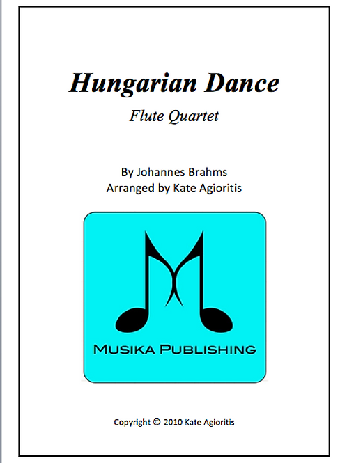 Hungarian Dance (Jazz) - Flute Quartet