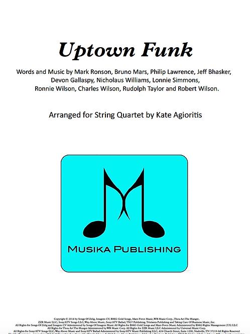 Uptown Funk - String Quartet