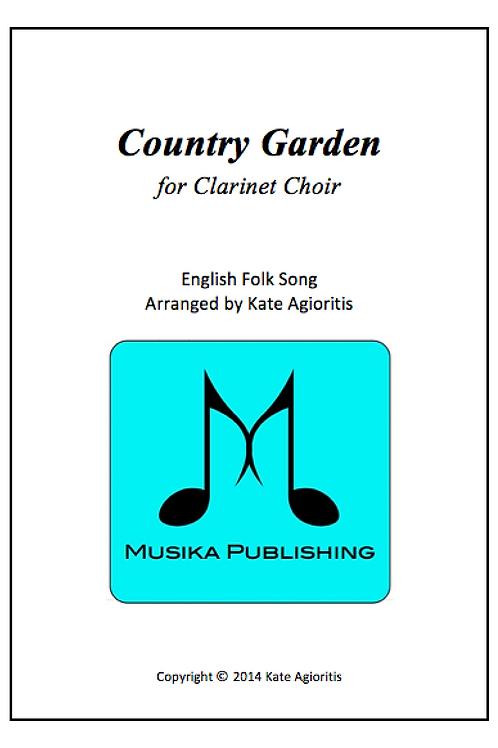 Country Garden - Clarinet Choir
