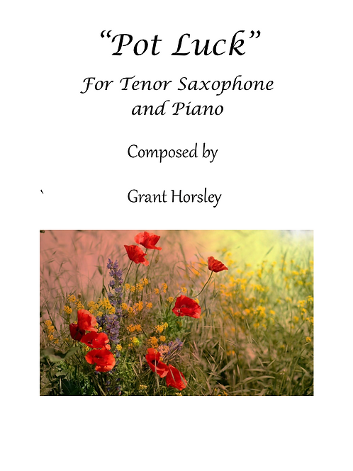 Pot Luck - for Tenor Saxophone and Piano