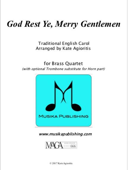 God Rest Ye Merry Gentlemen - Brass Quartet