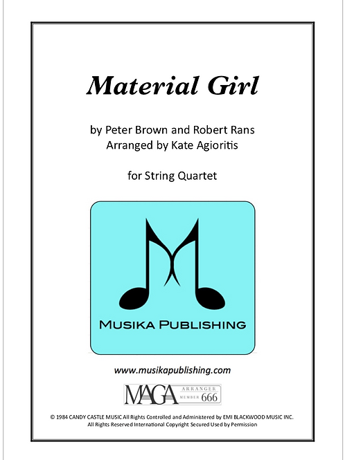 Material Girl - String Quartet