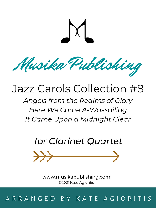 Jazz Carols Collection Set 8 - Clarinet Quartet